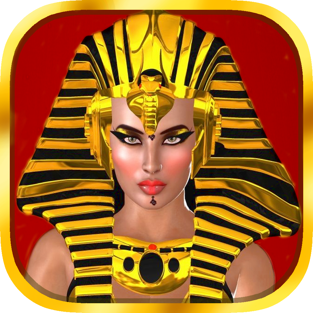 All Pharaoh Queens Mega Slots Machine - Bonus Wheel and Multiple Paylines Edition